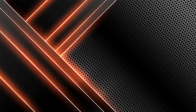 Tecnologia abstrata de fibra de carbono Vetor grátis