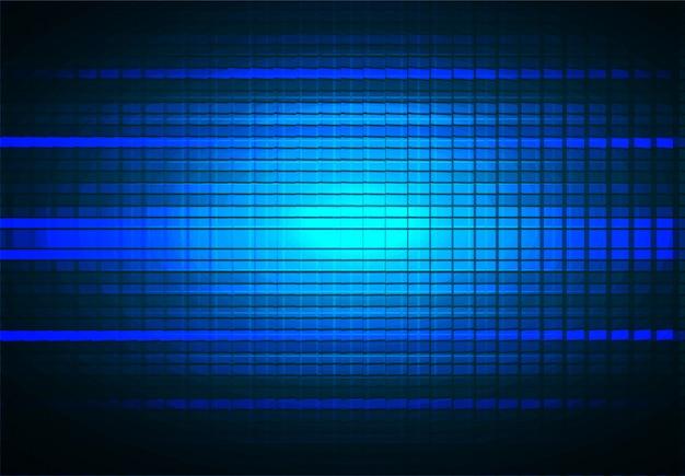 Tela de cinema led para apresentação de filmes. fundo abstrato tecnologia clara Vetor Premium