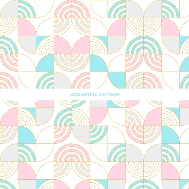 Telha design padrão geométrico abstrato Vetor grátis