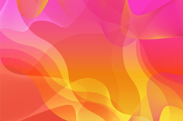 Tema abstrato colorido Vetor grátis