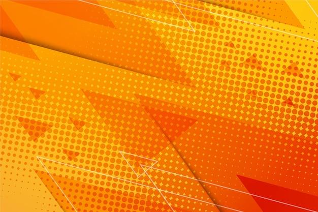 Tema de fundo abstrato de meio-tom Vetor Premium