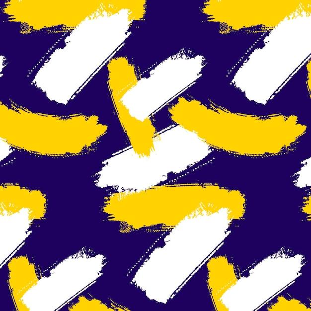 Tema de padrão de pincelada Vetor grátis