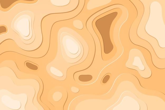 Tema do papel de parede do mapa topográfico Vetor grátis