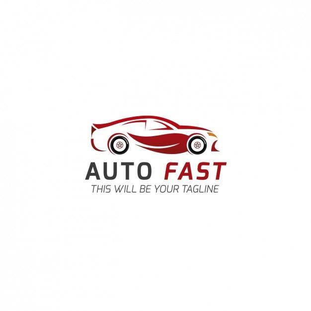 Template logo car company Vetor grátis