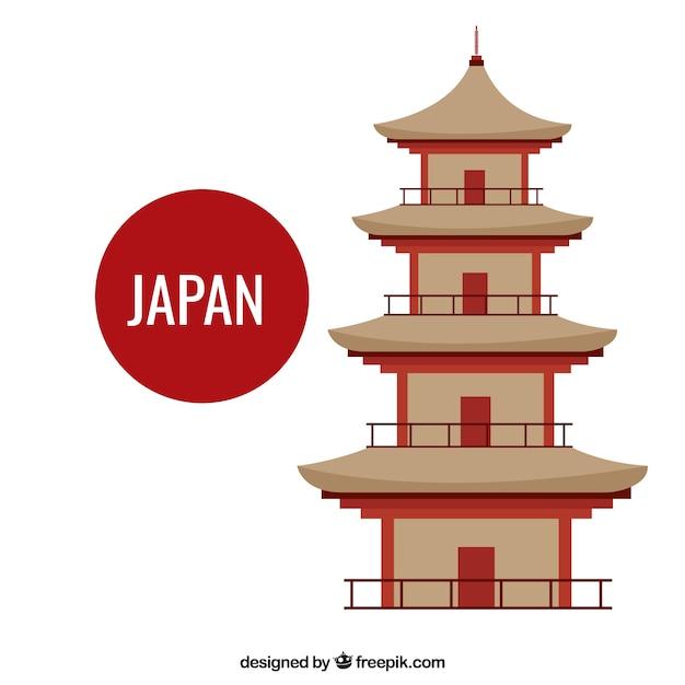 templo japonês baixar vetores grátis
