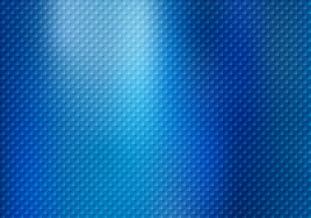 Teste padrão abstrato dos quadrados no fundo azul. Vetor Premium