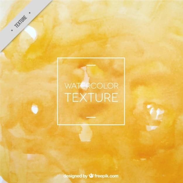 Textura amarelo da aguarela Vetor grátis