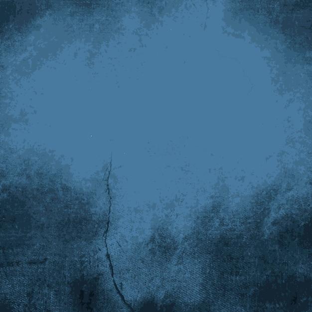 Textura angustiado azul escuro Vetor grátis