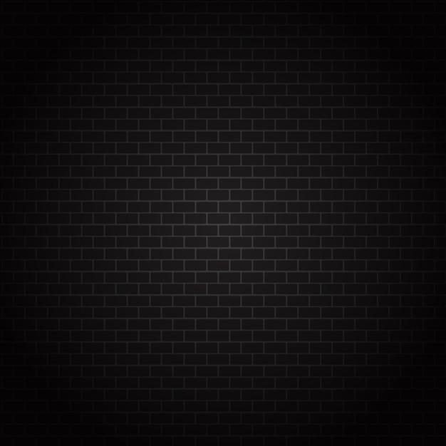 Textura da parede de tijolo escuro Vetor grátis