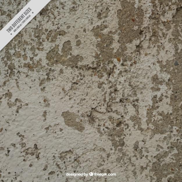 Textura da parede descascada Vetor grátis