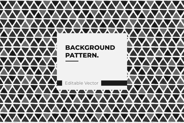 Textura de arte padrão visual abstrato loop gráfico de fundo Vetor Premium