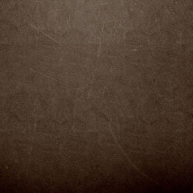 Textura de couro de brown Vetor grátis
