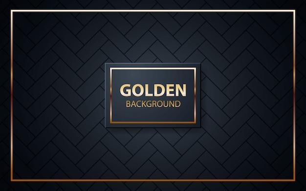 Textura de fundo preto de luxo Vetor Premium