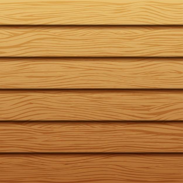 Textura de madeira realista. Vetor Premium