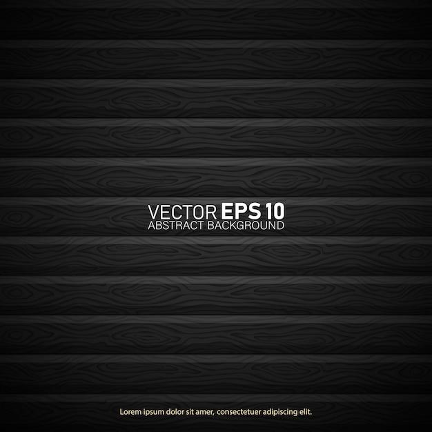 Textura de madeira vintage retrô grunge, de fundo vector. Vetor Premium
