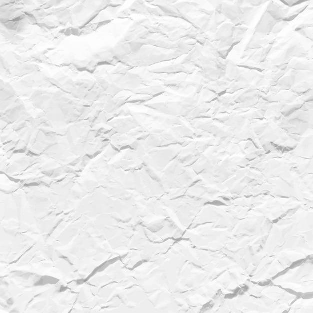 Textura de papel amassado Vetor Premium