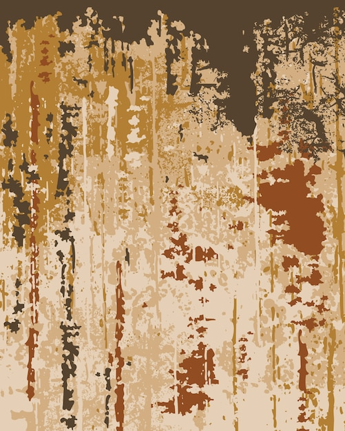 Textura de papel de parede antigo. pintura descascando. camadas de cores diferentes Vetor grátis