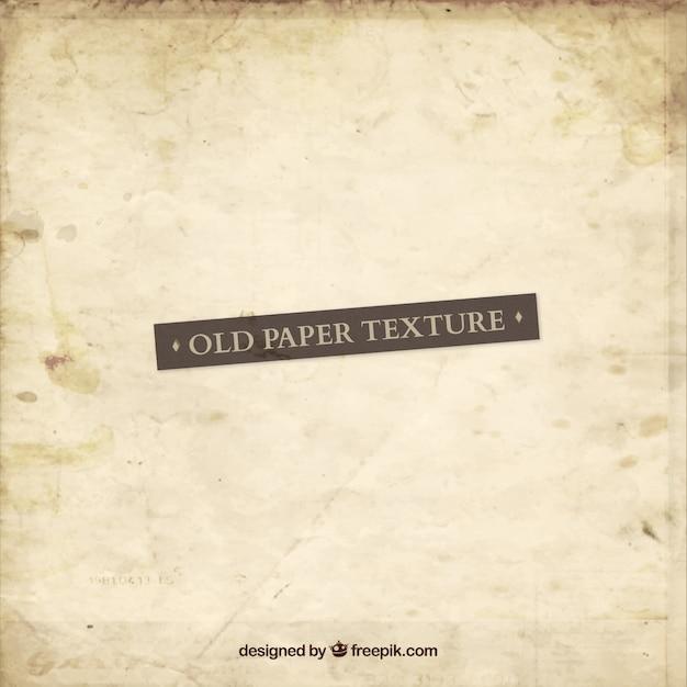 Textura de papel velha Vetor Premium