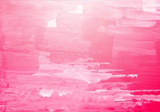 Textura de pincel aquarela rosa abstrata Vetor grátis