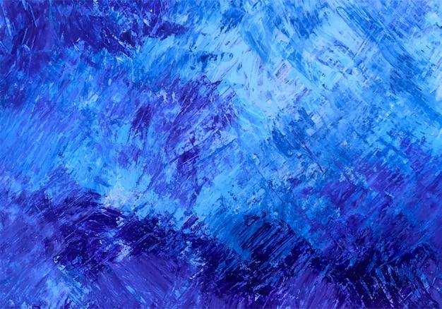 Textura de pincel azul abstrato Vetor grátis