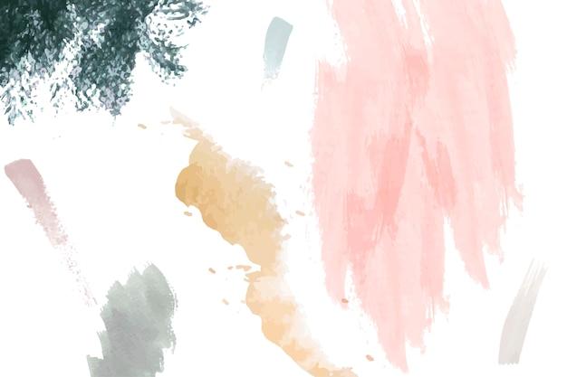 Textura de pintura criativa Vetor grátis