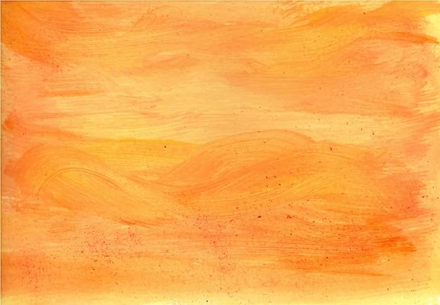 Textura de tinta acrílica laranja clara Vetor Premium