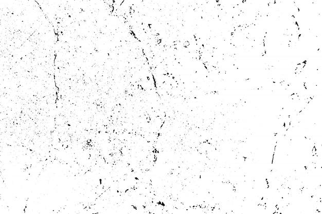 Textura grunge preto e branco Vetor Premium