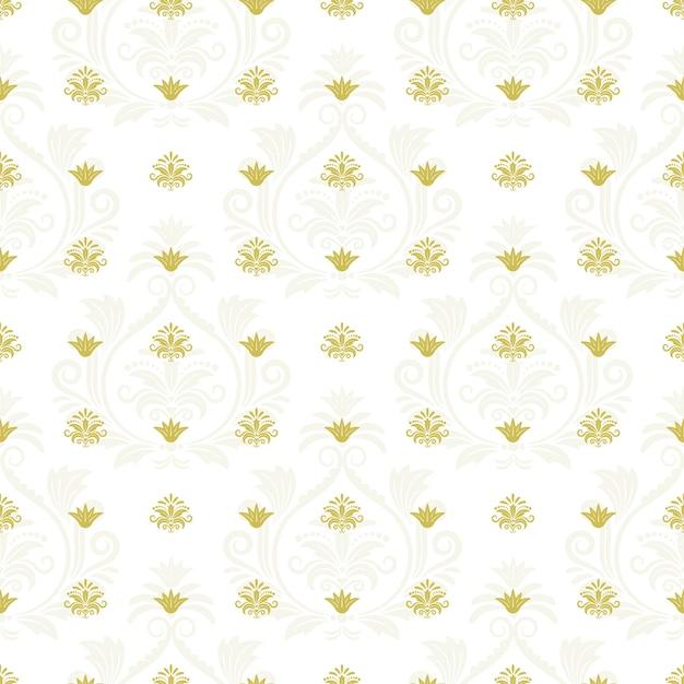 Textura infinita floral laço decorativo. elemento decorativo de repetição, plano de fundo transparente. ilustração vetorial Vetor grátis