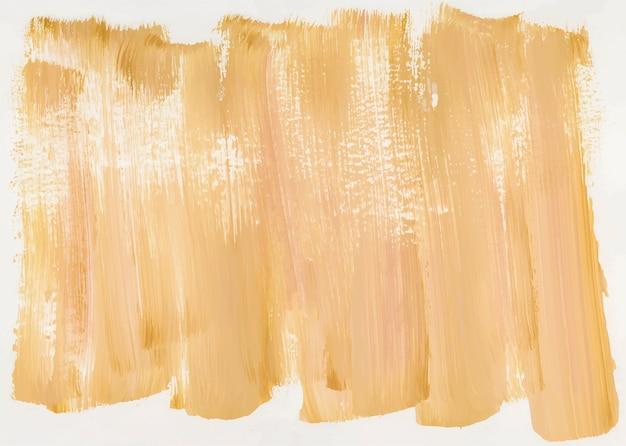 Tinta amarela em tela Vetor grátis