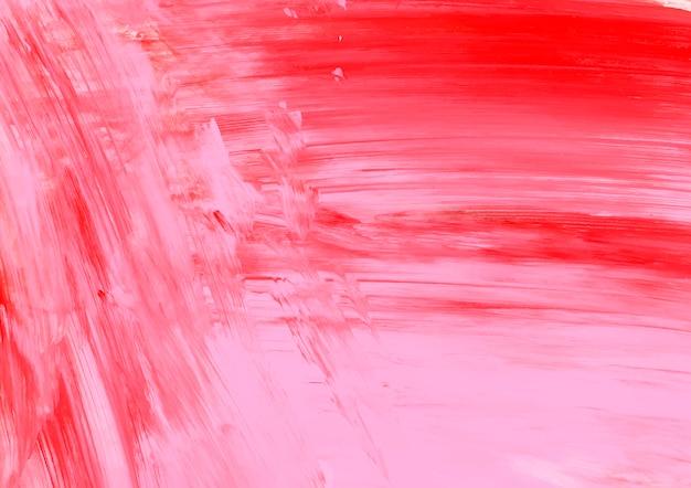 Tinta rosa e vermelha Vetor grátis