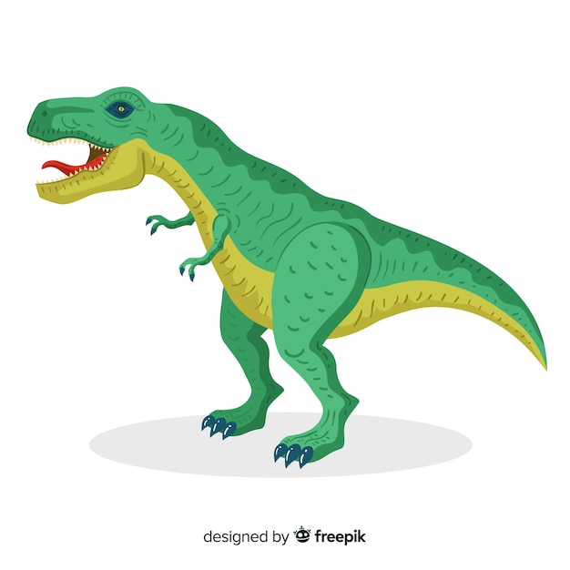 Tiranossauro rex Vetor grátis