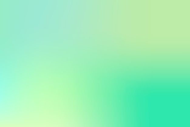 Tons de gradiente verde de fundo Vetor grátis