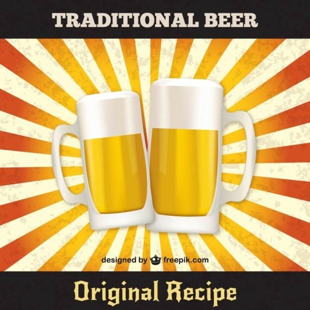 tradicional vector cerveja baixar vetores grátis