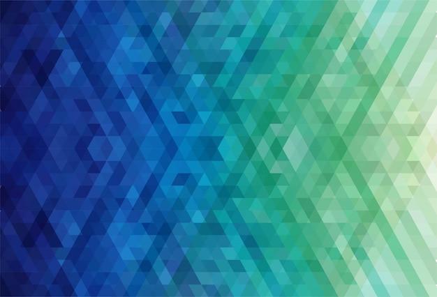 Triângulo abstrato de fundo colorido Vetor grátis