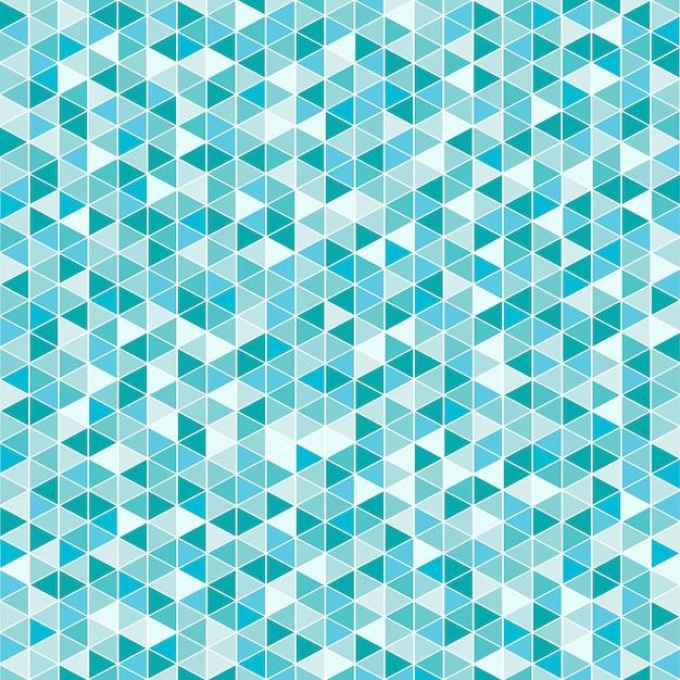Triângulo azul abstrato Vetor Premium