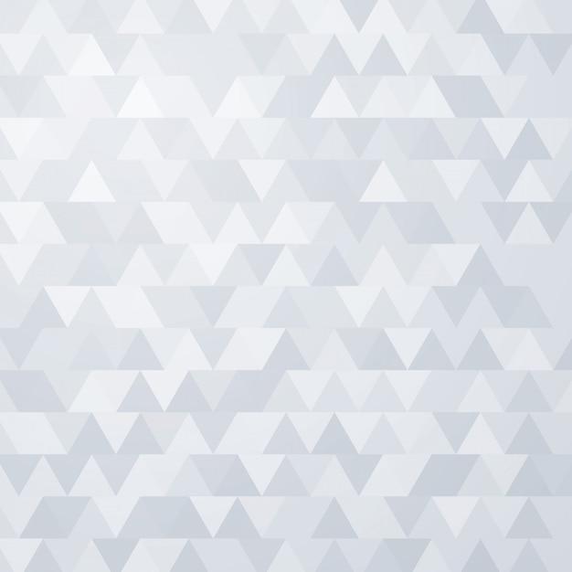 Triângulo cinza sem costura vector fundo Vetor Premium