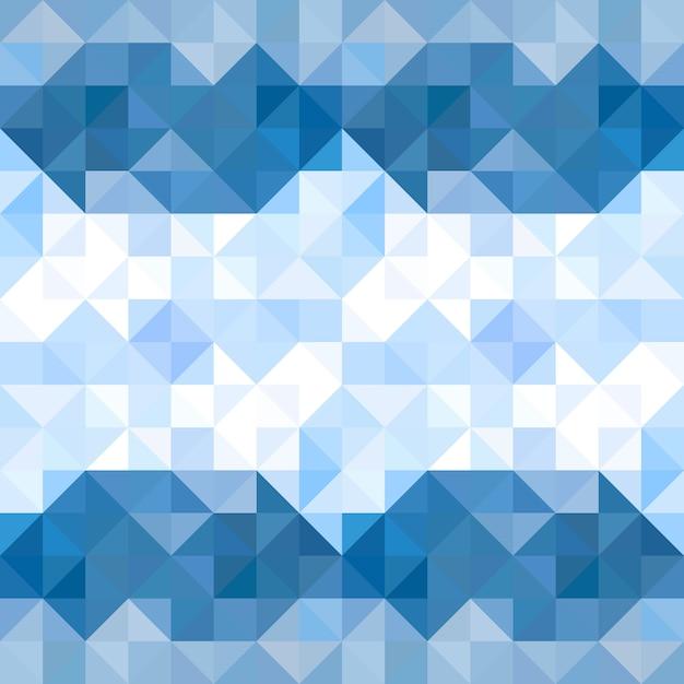 Triângulos abstratos padrão de fundo. fundo geométrico de água e céu. ilustração vetorial Vetor Premium