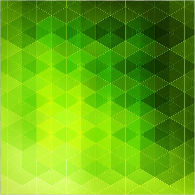 Triângulos de fundo geométrico abstrato Vetor Premium