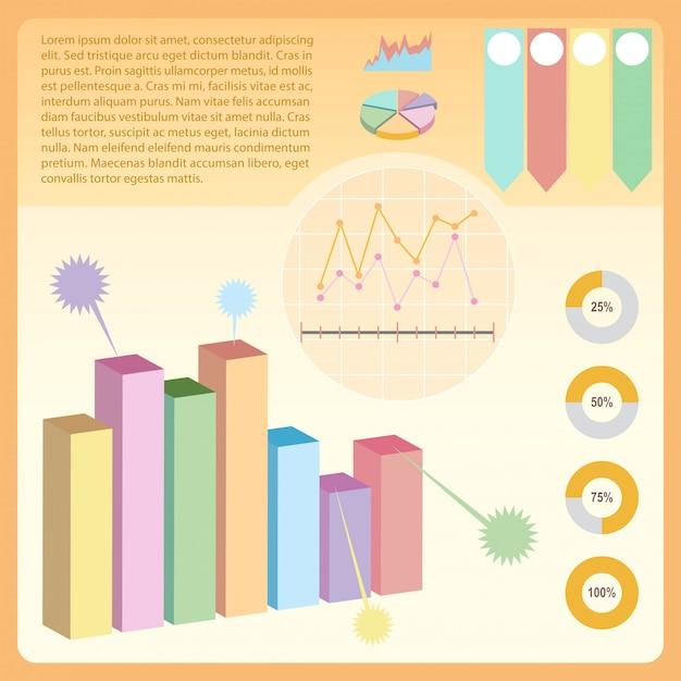 Uma infografia Vetor grátis