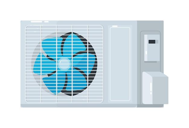 Unidade externa de sistema de ar condicionado split Vetor Premium