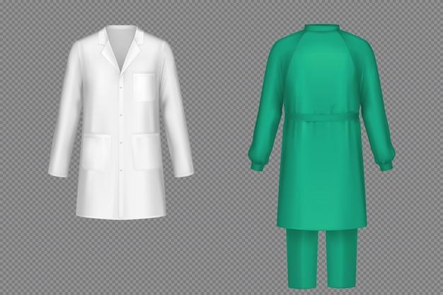 Uniforme médico para cirurgião, médico ou enfermeiro Vetor grátis