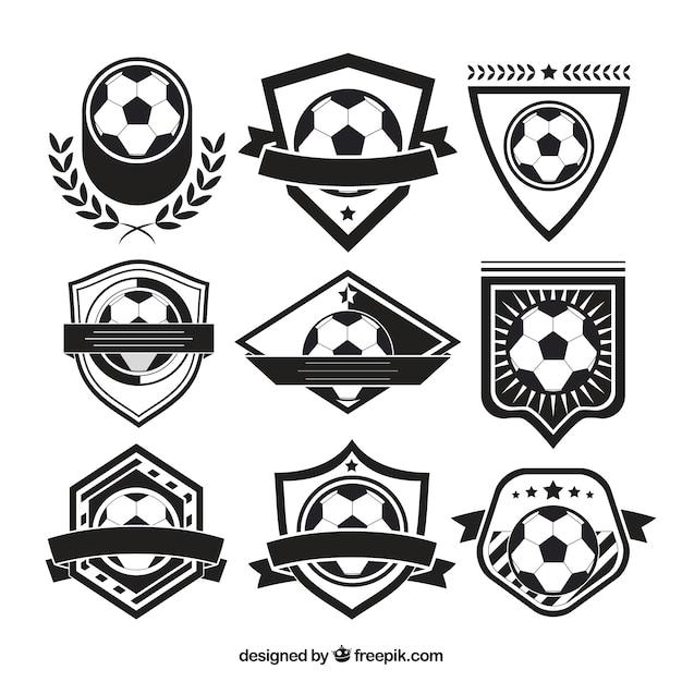 Black And White Wars Logos Designs