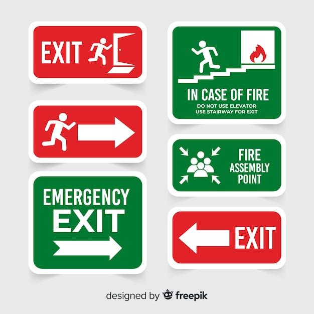 Vários sinais de saída Vetor grátis