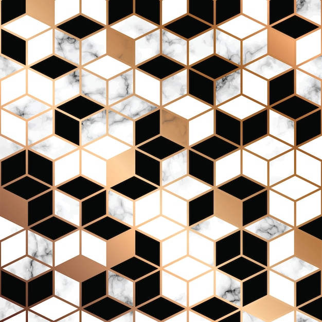 Vector design de textura de mármore Vetor Premium