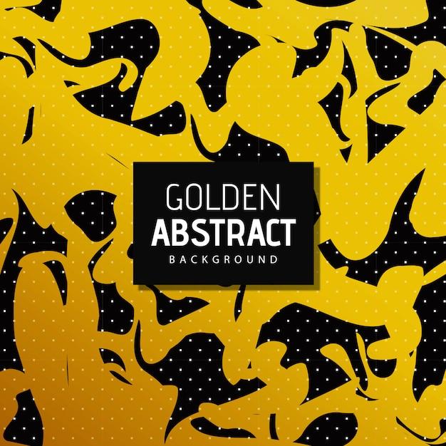 Vector dourado abstrato Vetor grátis