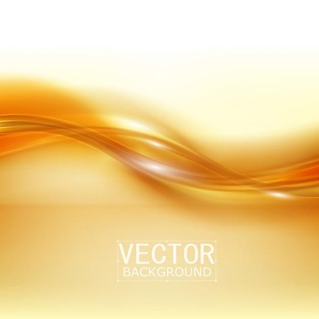 Vector lindo cetim de ouro Vetor grátis