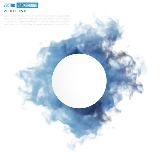 Vector nuvem azul. Vetor grátis