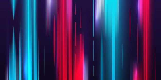 Velocidade de fundo da luz Vetor grátis