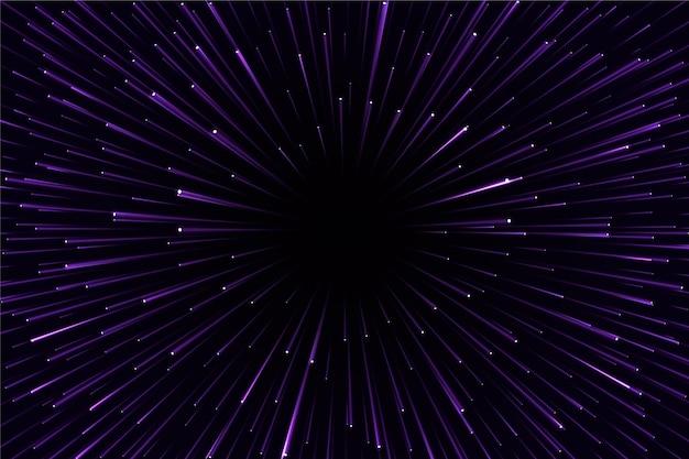 Velocidade futurista luz de fundo Vetor grátis
