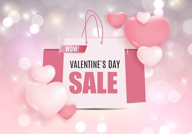 Venda de dia dos namorados amor e sentimentos. Vetor Premium